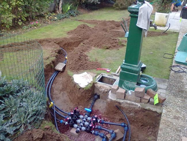 casa immobiliare accessori centralina impianto irrigazione